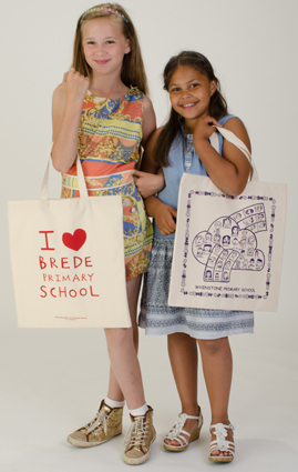 Printed shopper bags